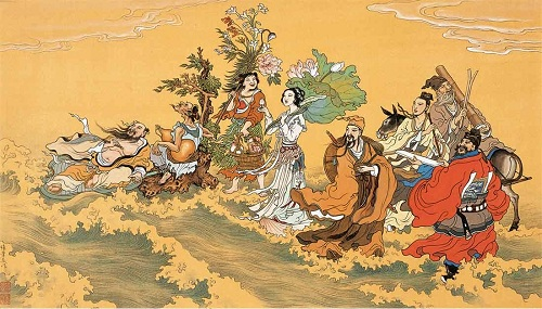 Pa Hsien Guo Hai, Eight Chinese Gods