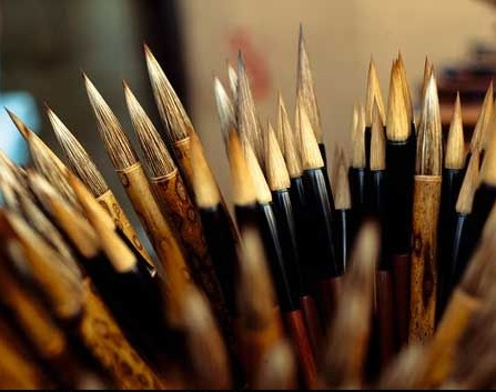 Chinese Calligraphy: brushes