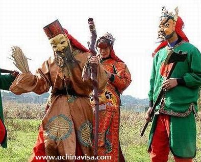 Chinese Sorcerer's masks