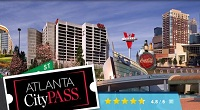 CityPass and all Combo Passes with other attractions Include: admission to all six permanent galleries and our all-new AT&T Dolphin Celebration presentation. Atlanta CityPass* Admission to 5 of Atlanta's most popular attractions!