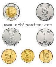 Hong Kong Currency coins