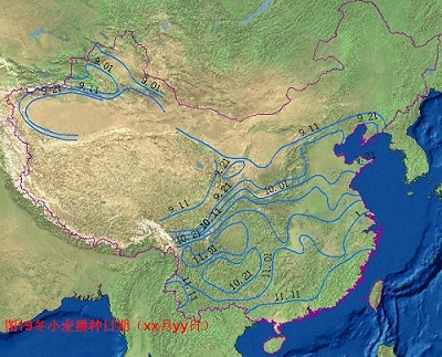 Physical Feature Map Of China.Physical Map Of China