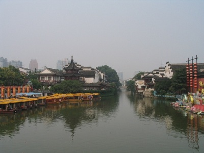 Qinhuan River, Nanjing, China