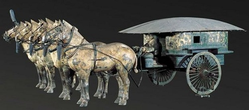 A Bronze Chariot
