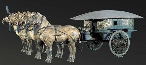 A Bronze Chariot