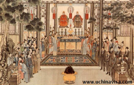 Religions in China: Ancestor worshipping
