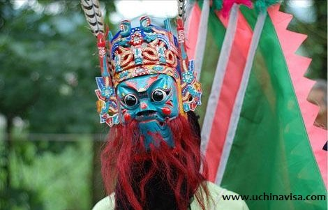 Chinese Masks: Exorcising Masks