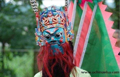 Chinese Masks: Exorcising Masks