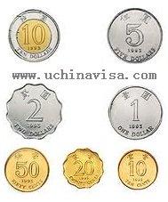 Hong Kong Currency coins
