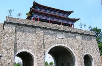 The South City Gate from the Ming Dynasty in Nanjing, China