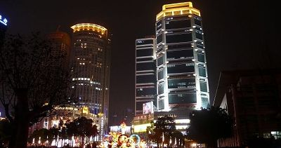 Nanjing Pictures: Night Street
