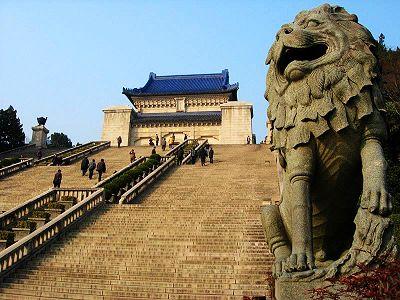 Sun Yat-sen's Mausoleum, Nanjing, Jiangsu, China